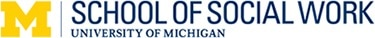 University of Michigan School of Social Work logo